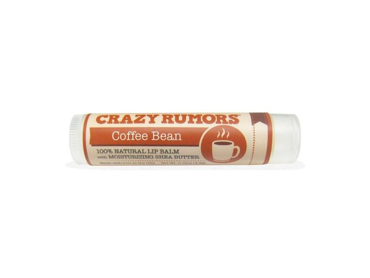 Crazy Rumors balzám na rty Coffee Bean