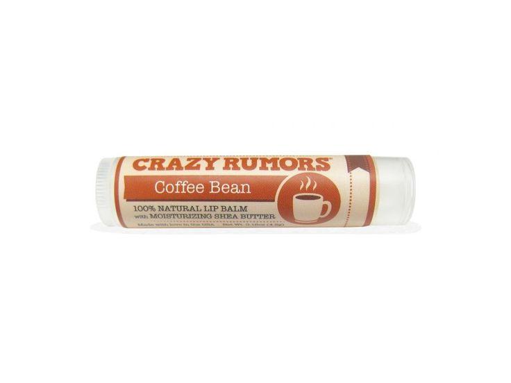 Crazy Rumors balzám na rty Coffee Bean