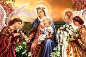 Resultado de imagen para virgen del rosario carteleras