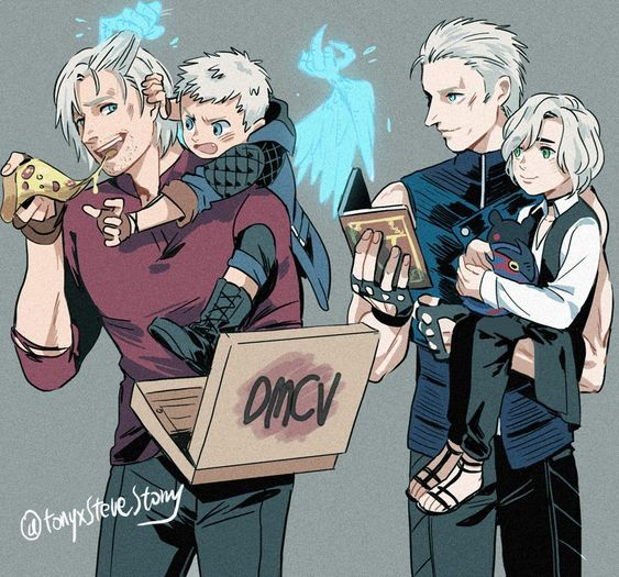 Pin By Angel Black On Devil May Cry