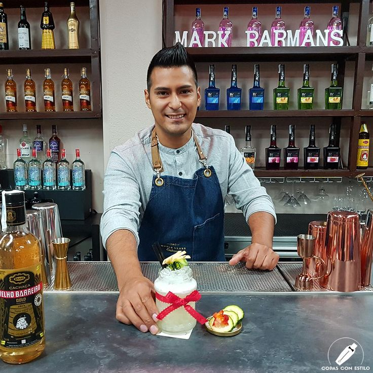 "Realmente sabroso el cóctel ""Sweet Madness"" del gran bartender James Mark Misajel.    #CopasConEstilo #Bartender #Cocktail #Coctelería #Cóctel #Cócteles #Madrid"
