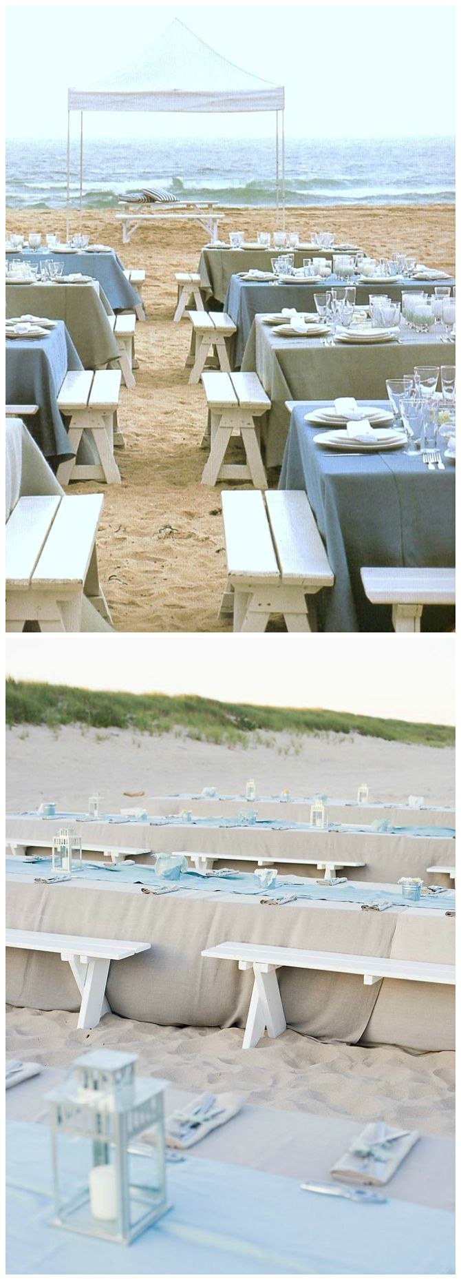 Wedding ● rehearsal dinner inspiration ● Beach Theme   #beach wedding ... Wedding ideas for brides, grooms, parents & planners ... https://itunes.apple.com/us/app/the-gold-wedding-planner/id498112599?ls=1=8 … plus how to organise an entire wedding ♥ The Gold Wedding Planner iPhone App ♥