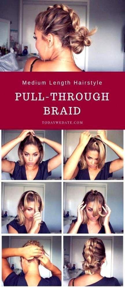 Super hair short updo tutorial shoulder length ideas –