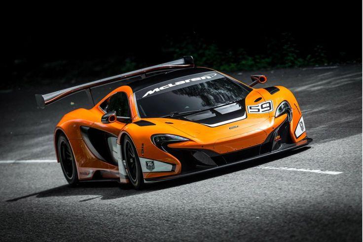 2015 McLaren 650S GT3 Race Car Revealed