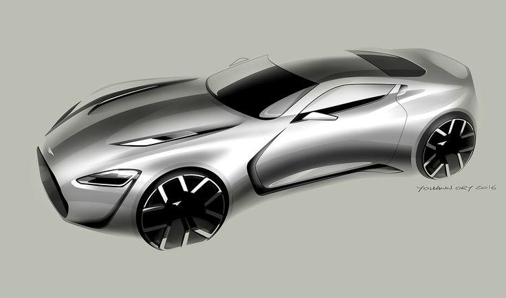yohann_ory_aston.jpg (1320×777) #aston martin #car design #sketch