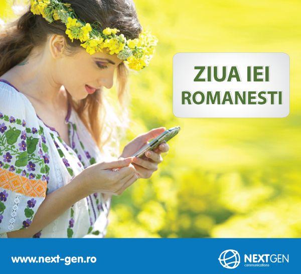 Sarbatorim Ziua Universala a Iei romanesti! #ziuaiei