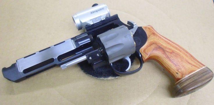 Smith Amp Wesson 627 V Comp Race Gun Custom Work By Apex