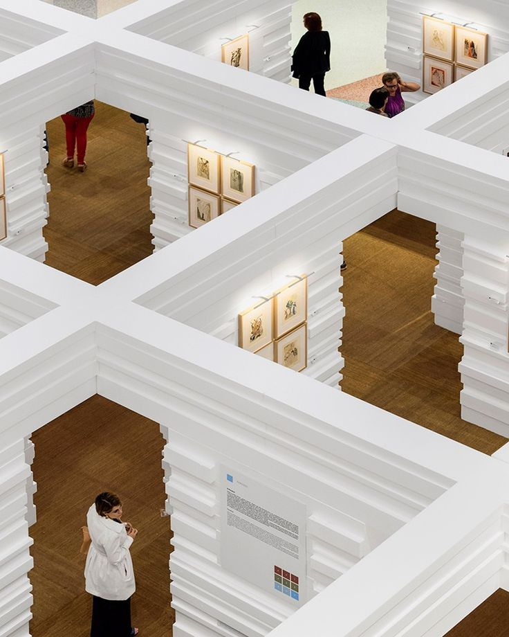 LIKEarchitects constructs a temporary salvador dali museum in a lisbon mall