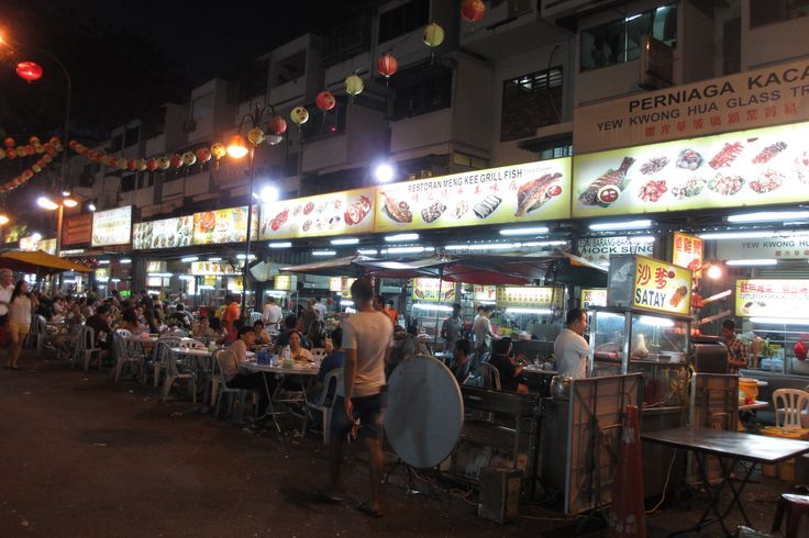 Jalan Alor.. Must to come if you visit Kuala Lumpur.. Lots of food stall here.. May 2015.. I love travel..