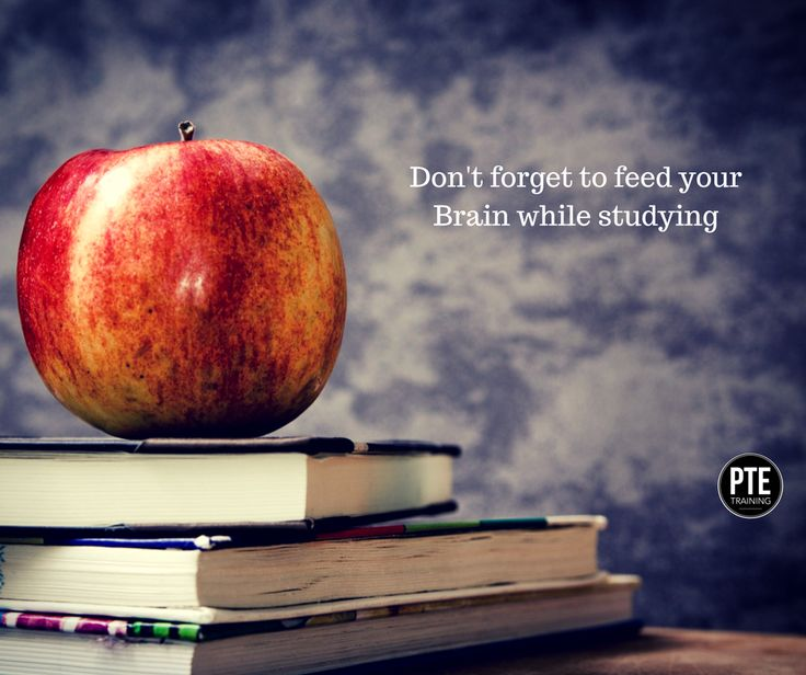 Remember to feed your brain