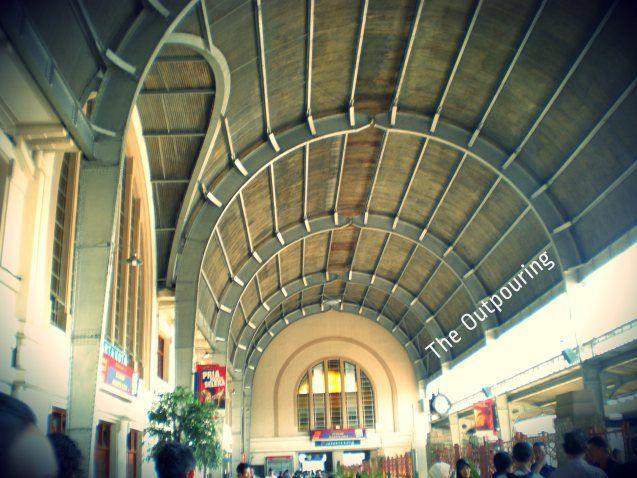 Beos ( Bataviasche Ooster Spoorweg Maatschappij) Station at Jakarta Kota