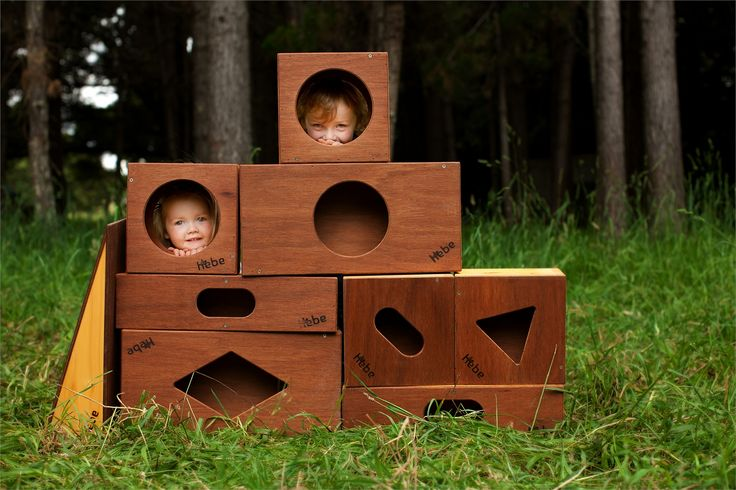 Hebe wooden building blocks.  Made to withstand a bit of rough and tumble.  Handmade and built to last!  Available online at www.hebe.kiwi.nz