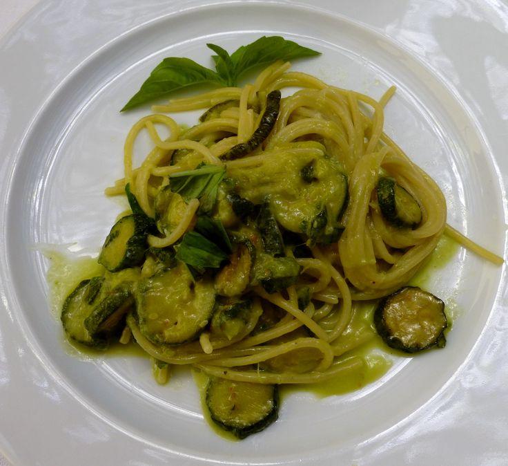 Pasta with Zucchini at La Conca del Sogno