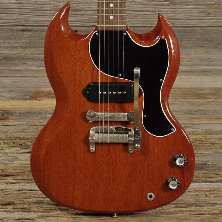 Gibson SG Junior with Tremolo Cherry Red 1963 - PRICE REDUCED