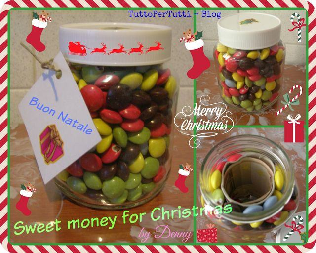 SWEET MONEY FOR CHRISTMAS! by Denny http://tucc-per-tucc.blogspot.it/2015/12/sweet-money-for-christmas-by-denny.html