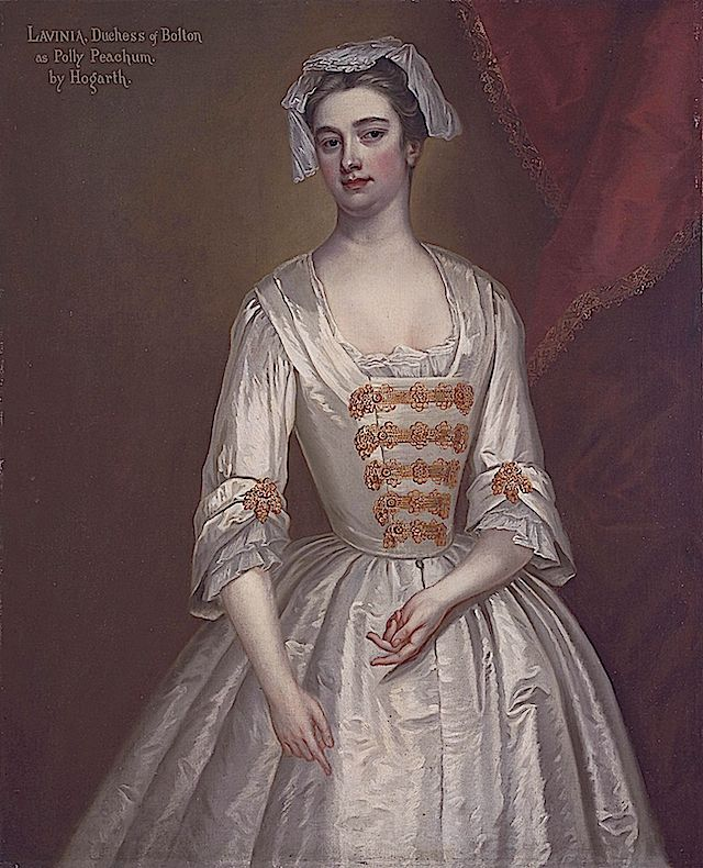 Stage Actress Lavinia Fenton, Later Second Duchess Of
