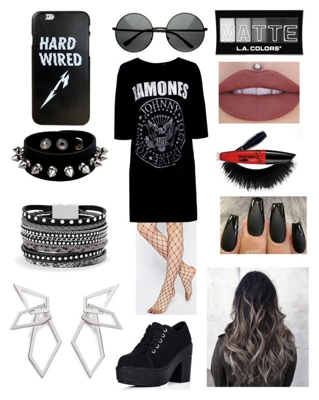 """Fangirl #2"" by olahtory on Polyvore featuring ASOS, Boohoo, L.A. Colors, White House Black Market and W. Britt"