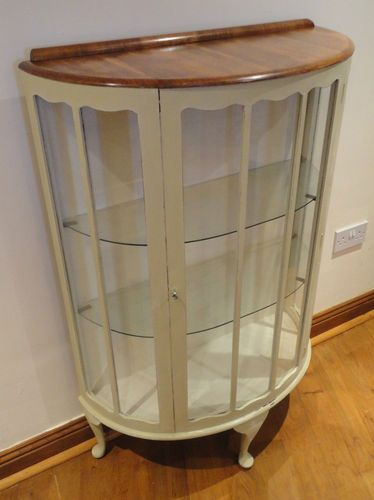 Display Cabinet like this but possibly unpainted, just varnished wood for some of my bits :D amazing :D