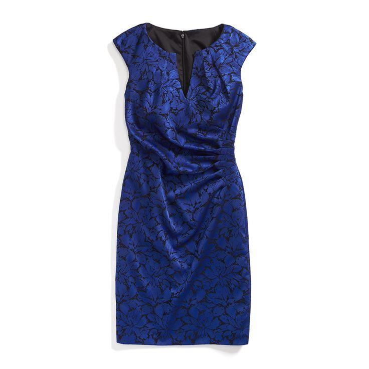 Hyper cobalt color dresses