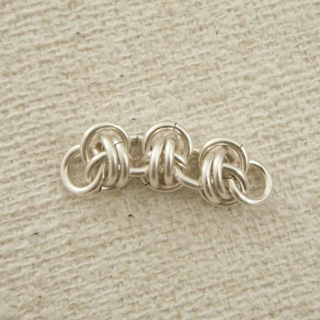 Simple twist of fate chainmaille tutorial