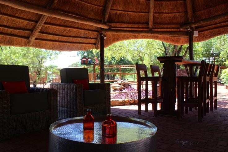 The outside lapa bar  South africa  Safari