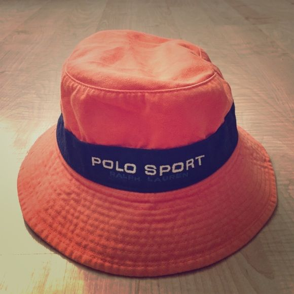 Ralph Lauren Polo Sport Bucket Hat Polo Sport Bucket Hat, a little faded, but still in great condition with a fun vintage look! Polo by Ralph Lauren Accessories Hats
