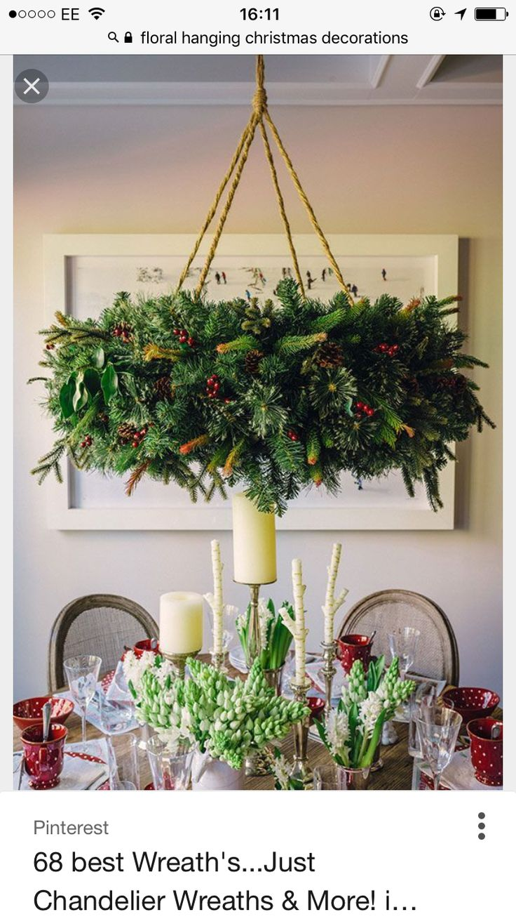 Christmas SwagsChristmas DecorationsChristmas IdeasHoliday  CenterpiecesWreath IdeasCute IdeasDiy IdeasIdeas ParaNavidad Diy
