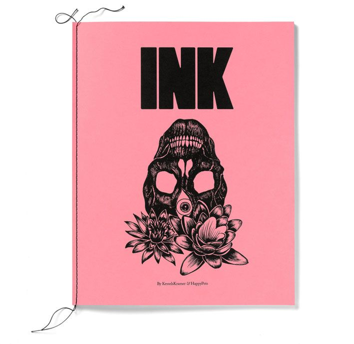 Love happy-pets _ INK _ a book by kesselskramer & happypets, black & white, 279 x 355 mm, 56 pages