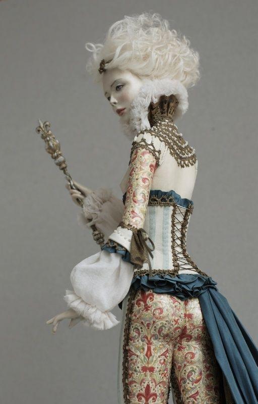 """""""Russian Art Doll"""" #pinterest #dolls striking pose. ^kv"""