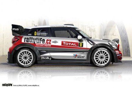 MINI JCW Paceman WRC 2013