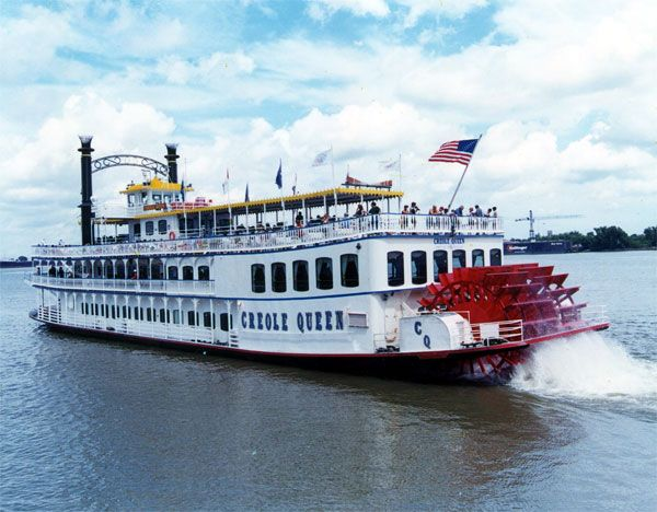 creole queen wedding pic | New Orleans Riverboat