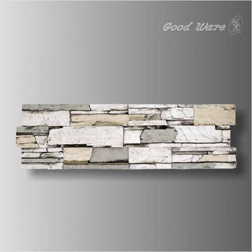 Polyurethane interior faux stone panels