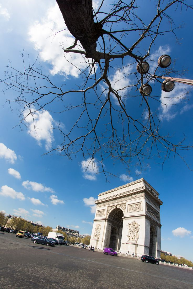 Triumphal arch Paris - Triumphal arch, the Center of Paris