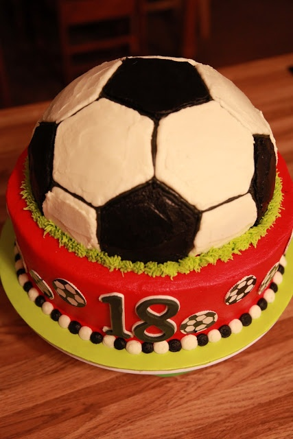 Birthday cake for a 13-year-old girl who loves soccer, whose number ...