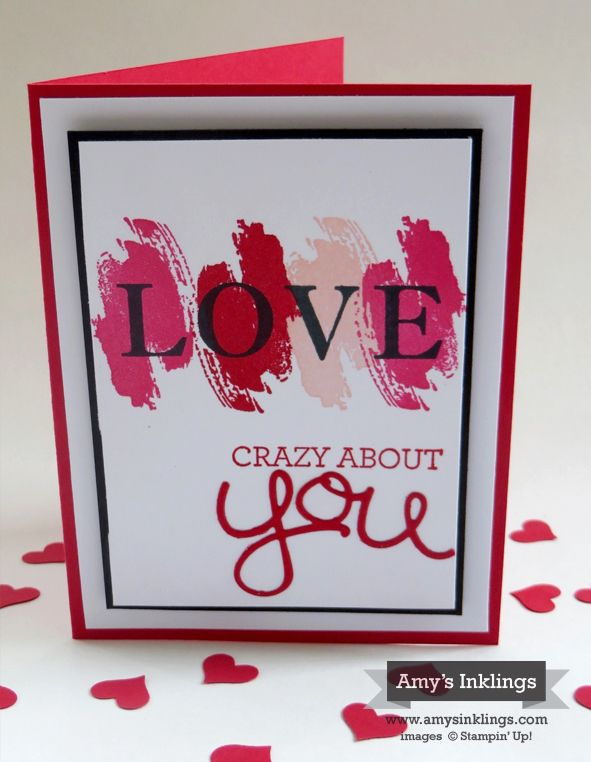 339 best Stampin Up Valentines images – Crazy Valentine Cards
