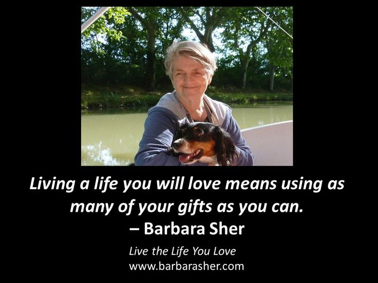 8 best hanging out with barbara sher images on pinterest life barbarasher barbarasher twittebarbarasher live the life you love https fandeluxe Image collections