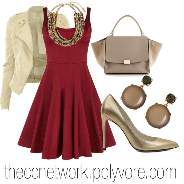 """Fall Night Outfit"" by theccnetwork on Polyvore"