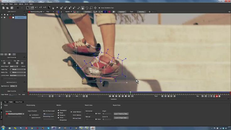 How to handle difficult motion tracking with mocha AE CC on Vimeo