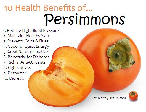 10 Health Benefits of Persimmons | Eating Healthy & Living Fit - EatHealthyLiveFit.com