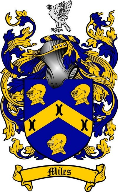 7 best miles coat of arms miles family crest images on pinterest miles coat of arms miles family crest the surname of miles was a name of two fold origin it was a baptismal name the son of miles altavistaventures Gallery