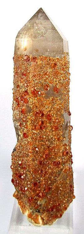 Gorgeous: Spessartine, Quartz