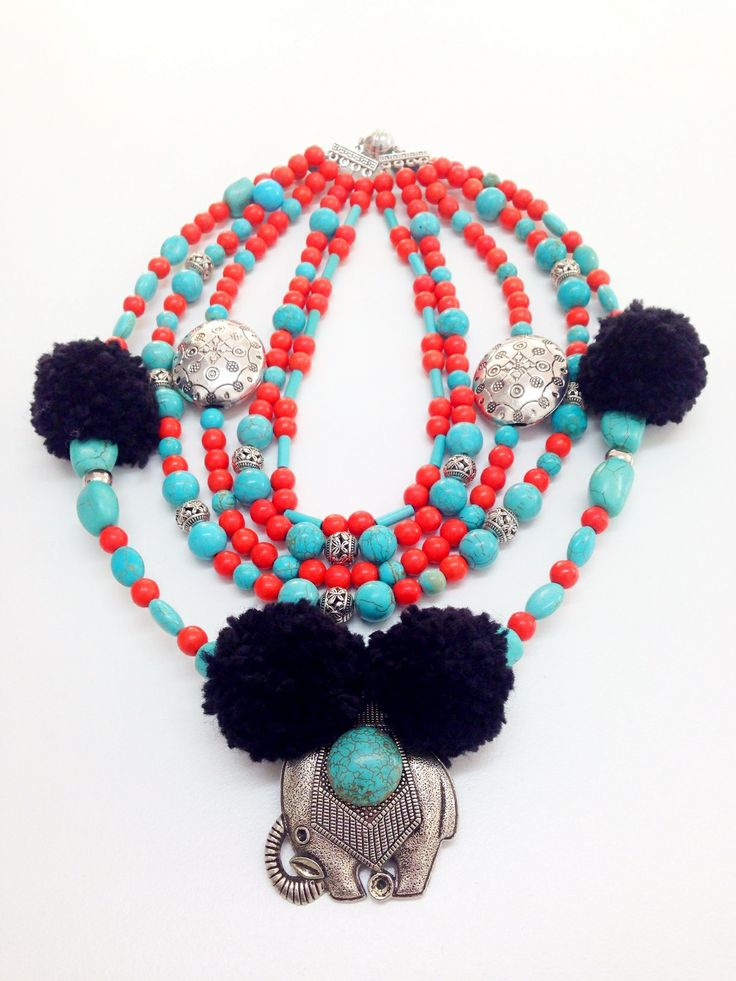 Necklace influenced by Thibet
