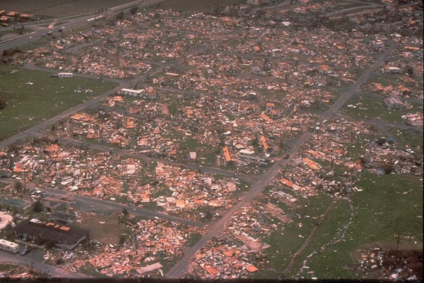 Land laid to waste | Hurricane Andrew