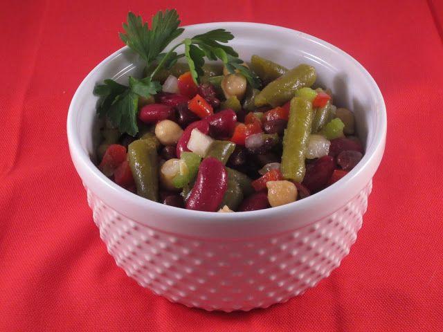 ... points bean salad   Food Fun   Pinterest   Best Beans, Bean Salads and
