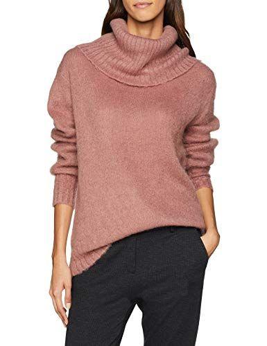6100cd3a37 Sisley Women s Sweater L S Jumper Pink (Nostalgia Rose 085) X-Small ...
