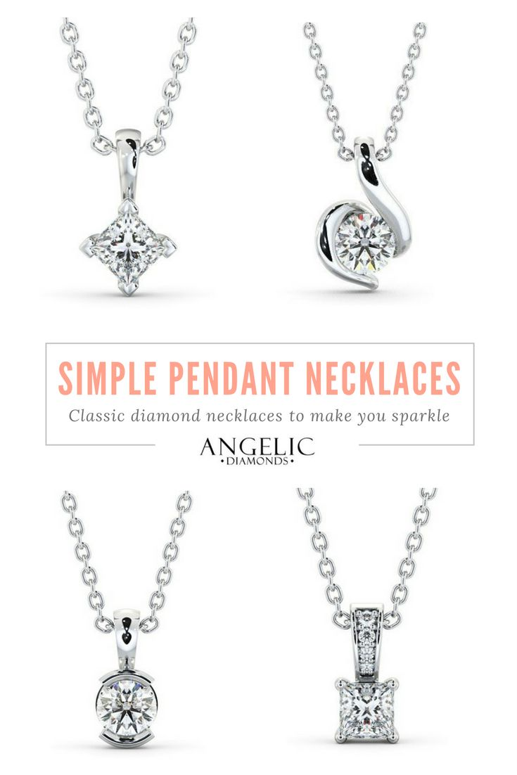 30 best diamond pendants diamond necklaces images on pinterest simple pendant necklaces with a free design service for your personal customisations from angelicdiamonds browse our site and find your perfect diamond aloadofball Images