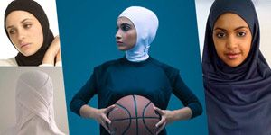 Set your heart racing with these hijabs made for sports and fitness activities. Ready… set… go!