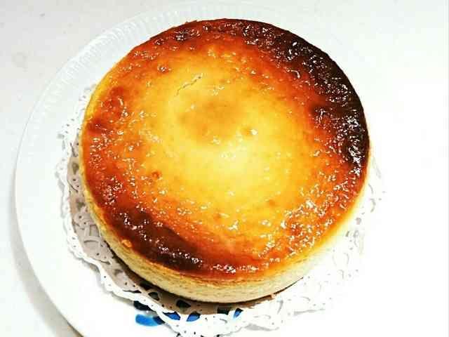 量るの面倒くさい!超濃厚ニューヨークチーズケーキ