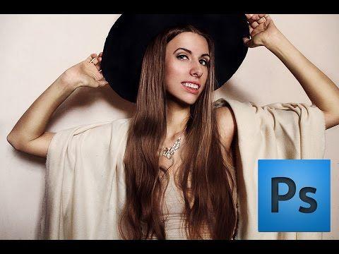 Уроки Photoshop | Красивая обработка портрета (Beauty Retouch) - YouTube