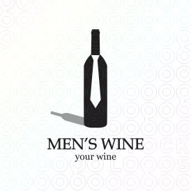 Men's Wine Logo  Guy's night out
